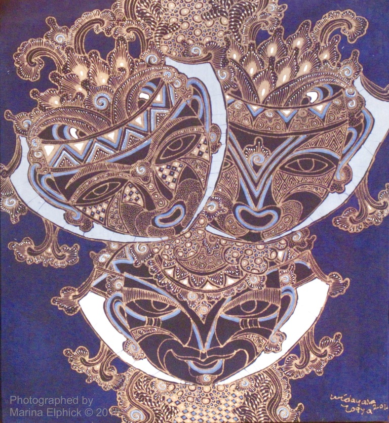 Batik by Widayana Koeswadji.