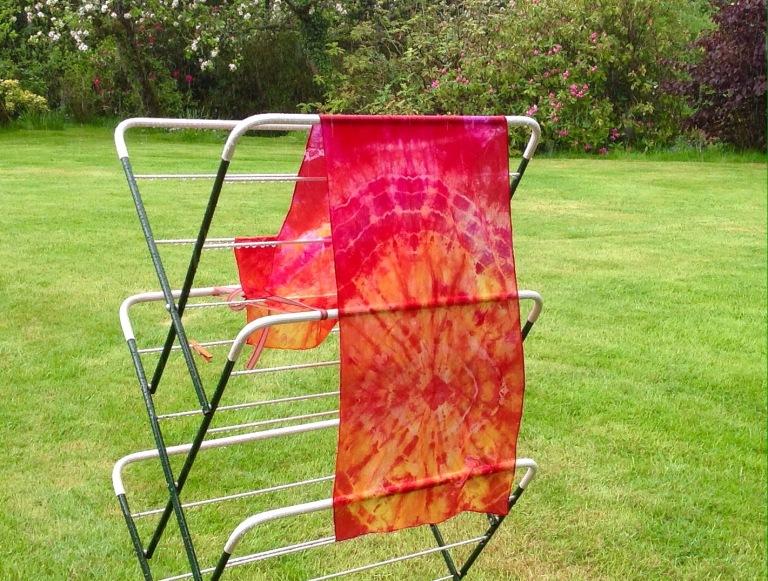Tie dye by Marina Elphick