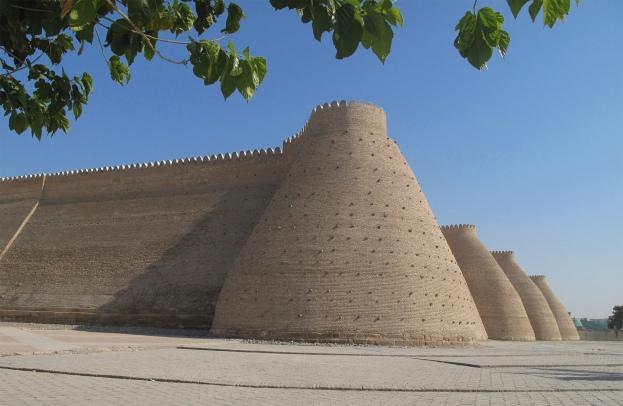 Ark Fortress, citadel Bukhara.Uzbekistan.