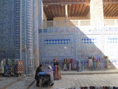 Harem, Kunya-Ark, Khiva. Uzbekistan.