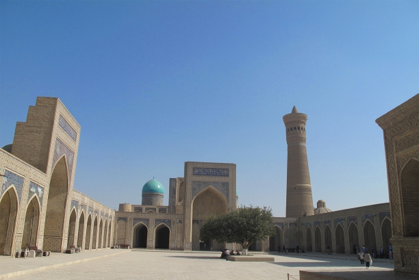 Kalyan Mosque, Bukhara, Uzbekistan.