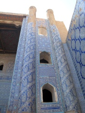Kunya-Ark, Mosque Mihrab, Khiva, Uzbekistan.