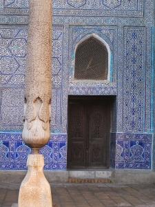 Detail, Kunya-Ark,'Old Fortress', Khiva. Uzbekistan.