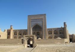 Madrasah of Khurdjum-Khan, Khiva. Uzbekistan.