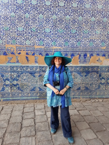Marina in Khiva, Uzbekistan.