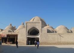 Medieval trading domes, or 'toki', Bukhara. Uzbekistan.