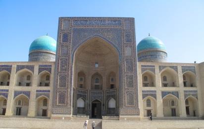 Miri-Arab Madrasah, Bukhara, Uzbekistan.