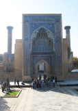Gur-Emir Mausoleum, Samarkand, Uzbekistan.