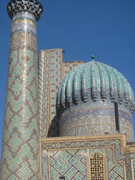 Sher-Dor Madrasah, Samarkand, Uzbekistan.