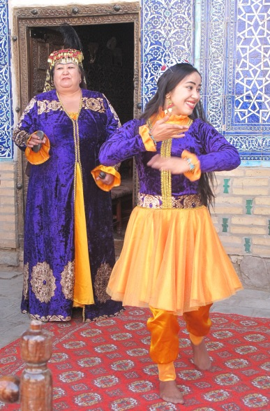Song and dance, Harem, Khiva.