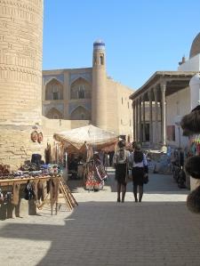 Street Market Khiva, Uzbekistan.