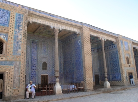 Tash- Hauli Harem, Khiva, Uzbekistan.