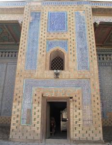 Inner chamber, Tash-Hauli Harem. Uzbekistan.