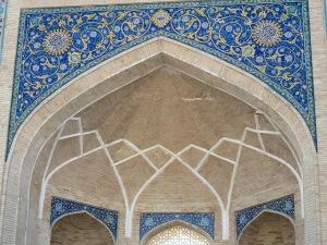 Madrasah of Barak-Khan Arch detail.