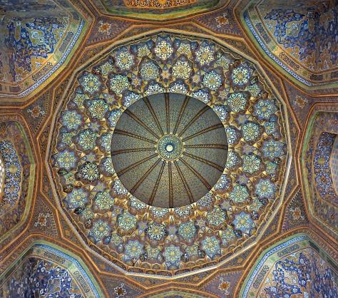 Tillya-Kari dome