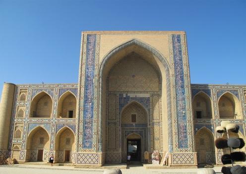 Ulugbek Madrasah, Bukhara. Uzbekistan.