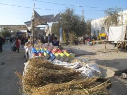 Produce market, Khiva, Uzbekistan.