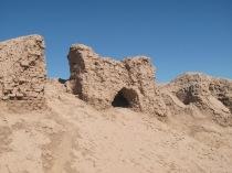 Zoroastrian city remains, 600BC Uzbekistan.