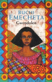 "Batik cover for the paperback edition Buchi Emecheta's ""Gwendolen"", by Marina Elphick."