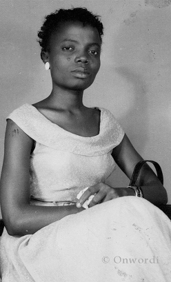 Buchi Emecheta as a young woman. Photo used courtesy of the Onwordi family.