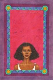 "Batik for Buchi Emecheta's ""Gwendolen"", by Marina Elphick."
