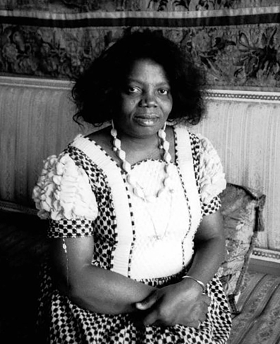 Buchi Emecheta in Stockholm. Photo used courtesy of the Onwordi family.