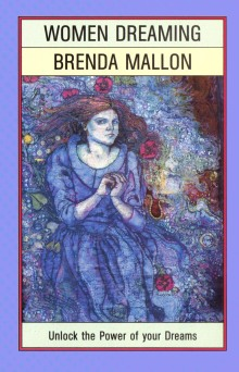 "Book cover for ""Women Dreaming"" taken from my batik self portrait of 'Ophelia'. Batik by Marina Elphick."